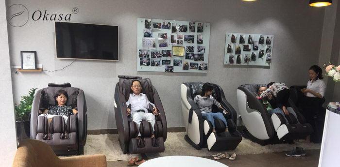 Ghế massage 4D có gì khác biệt so với ghế massage 3D và 2D