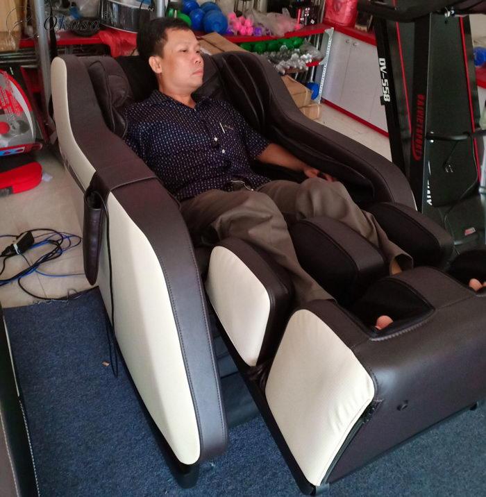 Hiểu về ghế massage Zero Gravity - Không trọng lực