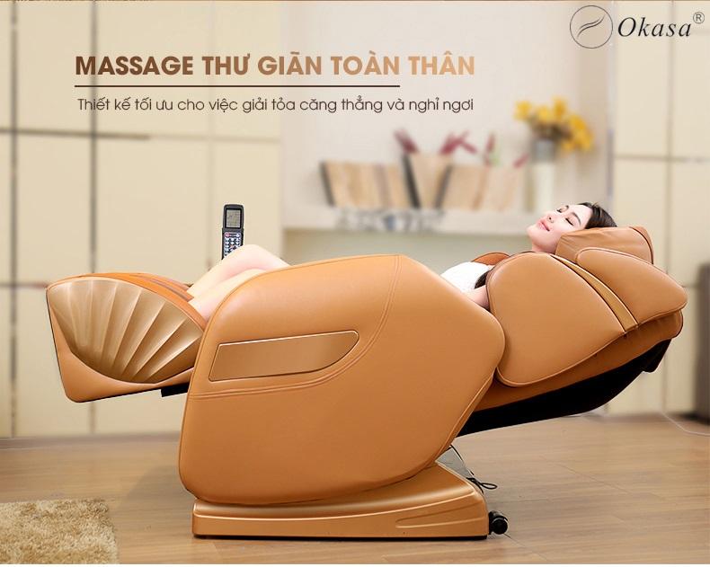 Kinh nghiệm chọn mua ghế massage toàn thân