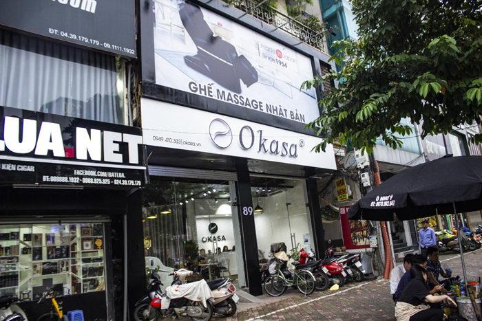Mách bạn địa chỉ bán ghế massage công nghệ Nhật Bản tại Việt Nam