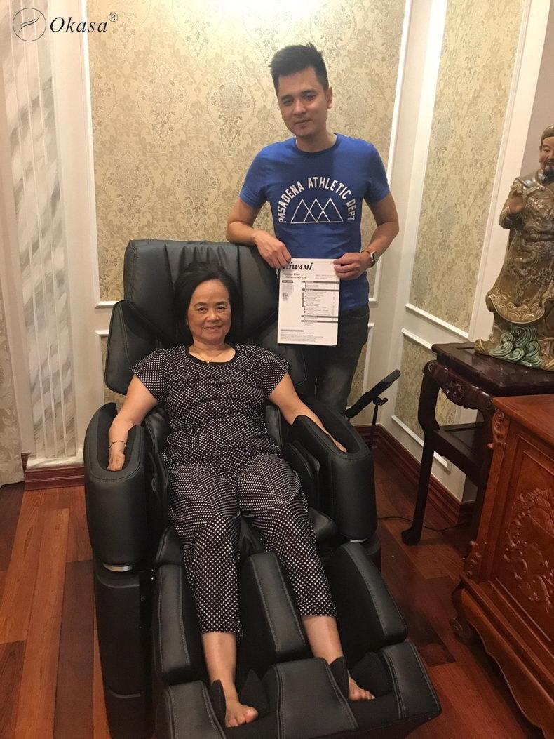 Nên mua ghế massage của hãng nào
