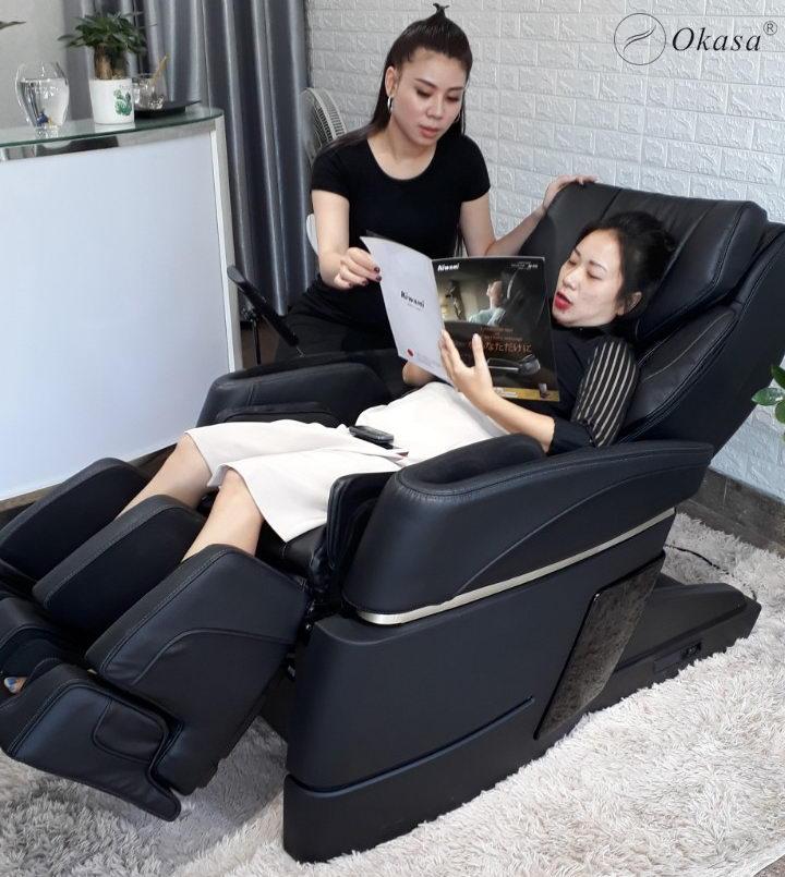 Những điều cần biết khi sử dụng ghế massage toàn thân