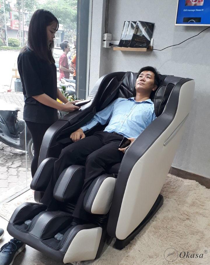 Những loại ghế massage cho Giám đốc
