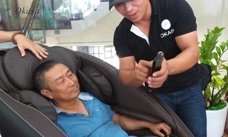 Ở đâu bán ghế massage nội địa Nhật