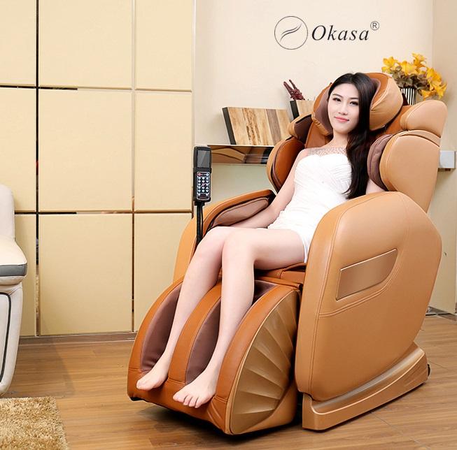 Okasa - Thương hiệu ghế massage công nghệ Nhật Bản
