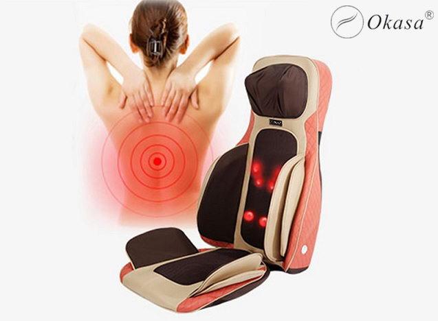 Review đệm ghế massage Okasa OS-288