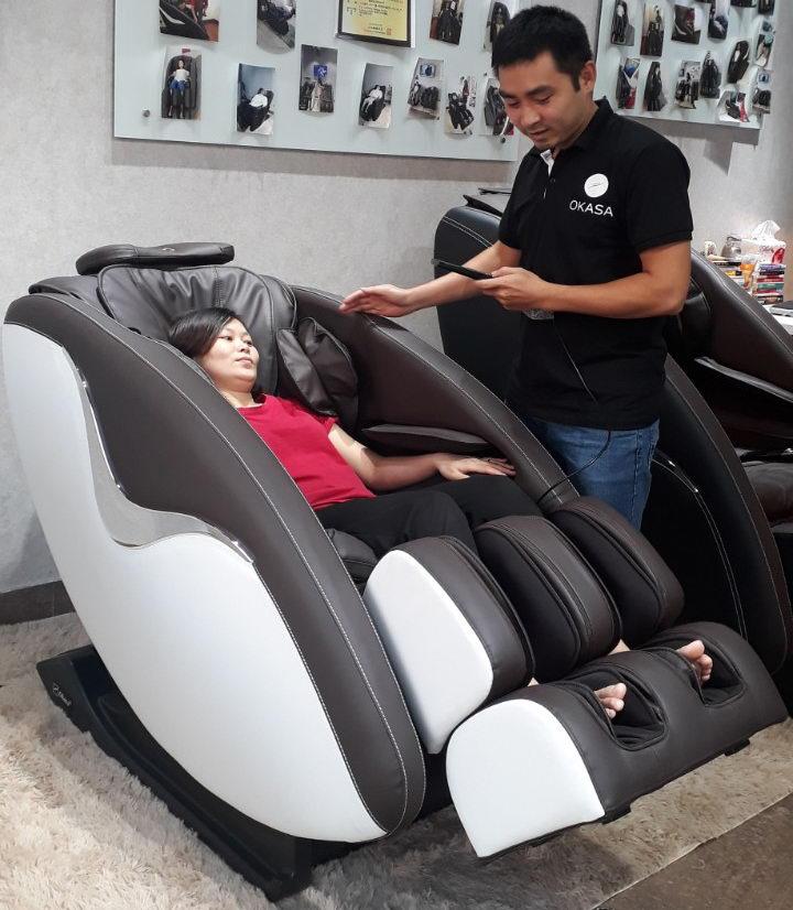 So sánh ghế massage 2D, 3D, 4D
