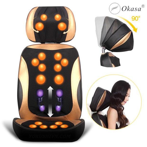 Tìm hiểu đệm ghế massage toàn thân