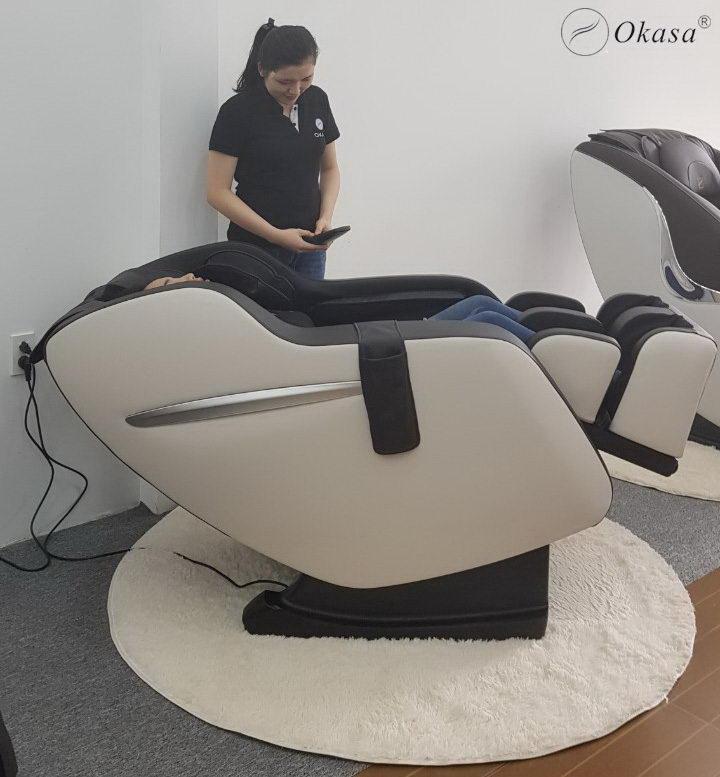Tối ưu tài chính với ghế massage toàn thân