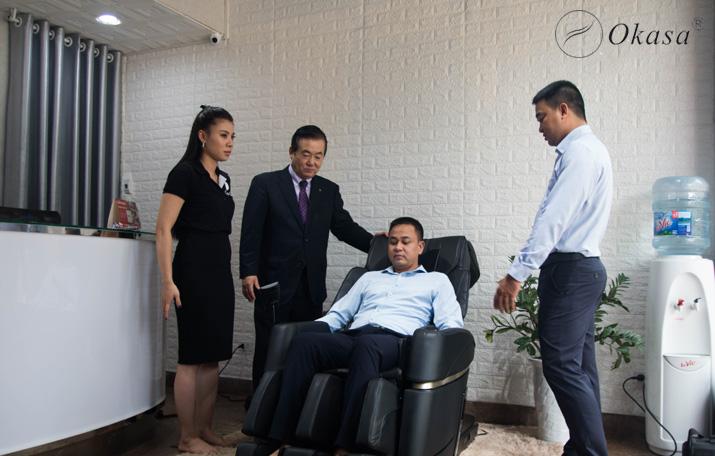 Tư vấn cách sử dụng ghế massage đúng cách và hiệu quả